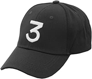 Chance The Rapper Baseball-Cap Embroidered 3 Dad Hat Hip-Hop
