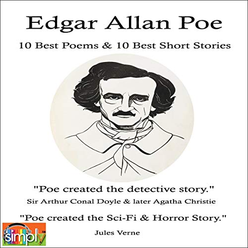 Edgar Allan Poe: 10 Best Poems & 10 Best Short Stories cover art