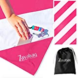 Zavabay Microfiber Beach Towel for Swimming, Travel and Holidays - Fast Dry, S