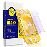 SmartDevil Screen Protector for Nintendo Switch Lite 2019,Anti-Blue Light Tempered Glass [Protect Eyesight] [9H Hardness] Compatible Nintendo Switch Lite (2 Pack)