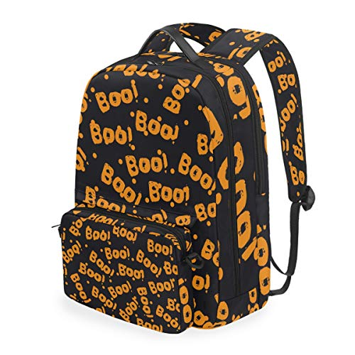 Boo Orange Letters Fashion Multifunctional 2 in 1...