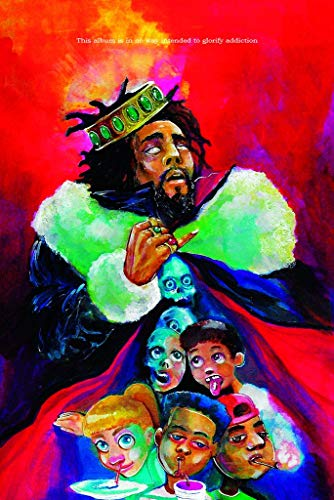 J Cole KOD Album Music Poster 24in x 36in
