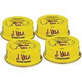 Alegrías Riojanas 🌶️ Lote 4 Latas de Alegrías Riojanas J. Vela 🌶️ Producto Artesano Pimientos Asados con Leña