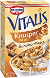 Dr. Oetker Vitalis Knusper Schoko mit Keks, 450 g