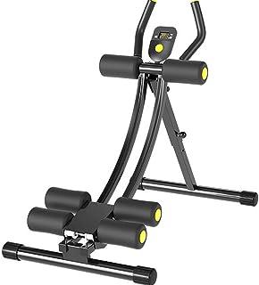 YAJIAN Justerbar skönhet midja maskin, lat buk motion, vikbar AB Böjning 10 minuter Shaper Roller Coaster Multifunktion He...