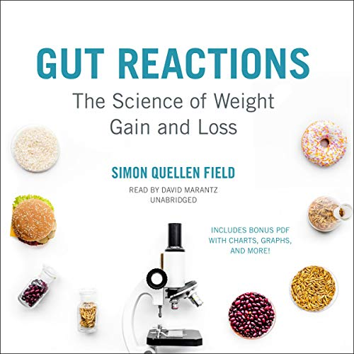 Gut Reactions audiobook cover art
