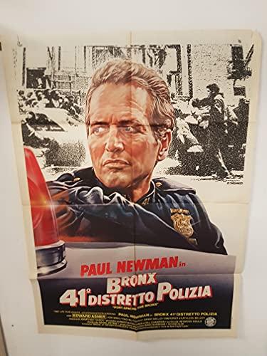 Manifesto 2 fogli - Poster - Bronx 41° distretto polizia