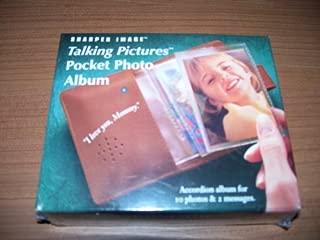 Talking Pictures Pocket Photo Album