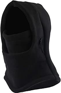 Sythyee Unisex Winter Balaclava Face Mask, Windproof Fleece Ski Face Mask,Winter Warmer Protective Headwear,Balaclava Hood