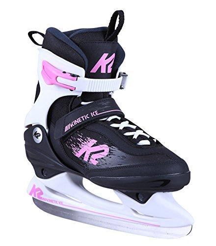 K2 Damen Schlittschuh Kinetic Ice W - Schwarz-Pink - EU: 34 (US: 4 - UK: 1.5) - 25C0160.1.1.040