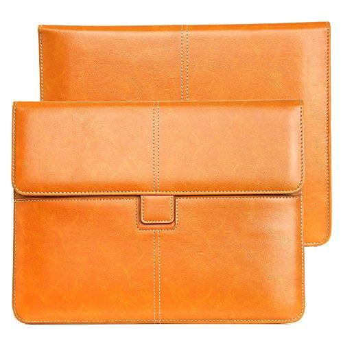 DAYNEW für 10 Zoll Universal-PU-Leder Hüfttasche Laptops/Notebooks/Tablet/Ultrabooks 12