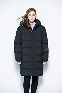 OTL Long Section Female Jacket Winter Outdoor Warmth Thickening 95% White Duck Down Feather Cotton Coat