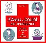 Stress au boulot, Kit d'urgence - 30 cartes de relaxation + balle anti-stress