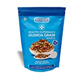 Keeros Quinoa Grain Super Snack for Diabetics - Sugar Free, Low Glycemic Index (GI), Low Calorie, Gluten Free, Tasty mix of Roasted Quinoa Puffs & 4 Super Grains   Diabetic Food Product   250g