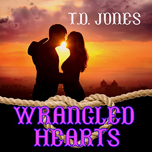 Wrangled Hearts audiobook cover art