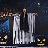 Decoraciones Halloween Halloween Colgante Calavera Esqueleto Fantasma Decoración Terrible Miedo Fantasma Impactante Barra Accesorios Cráneos Decoración De Halloween Decoración
