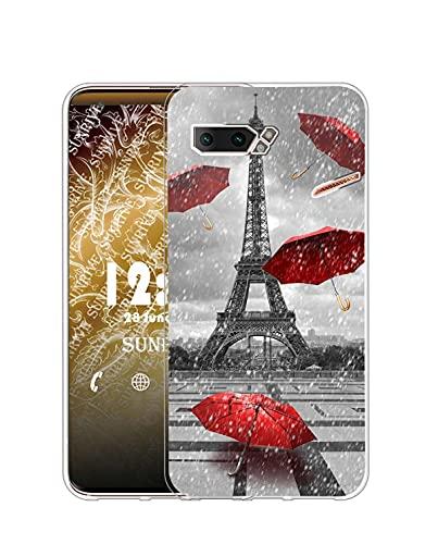Sunrive Funda Compatible con ASUS ROG Phone II, Silicona Slim Fit Gel...