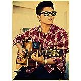 LGXINGLIyidian Sänger Bruno Mars Vintage Leinwand Poster