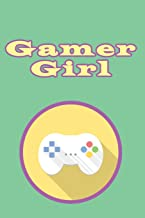 gamer girl: Blank Lined Journal, Notebook, Funny video games Addictive Notebook, Ruled, Writing Book, for gamers