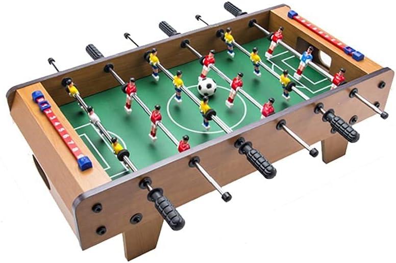 YQDSY Máquina de Fútbol de Mesa de Madera para Niños con Mesa de Madera Máquina de Juegos de Entretenimiento de Doble Juguete para Adultos Billar