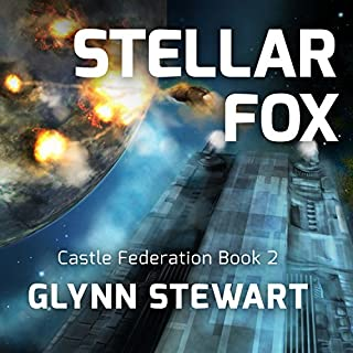 Stellar Fox     Castle Federation Series #2              Written by:                                                                                                                                 Glynn Stewart                               Narrated by:                                                                                                                                 Eric Michael Summerer                      Length: 10 hrs and 19 mins     3 ratings     Overall 4.7