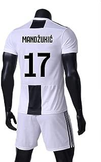 ZAIYI-Jersey Soccer T-Shirt-Mario Mandzukic-17 for Football Sports Fan Team Jersey T-Shirt Men's and Women's -Fans-T-Shirts Shorts
