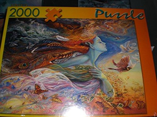 Josephine Wall: Spirit of flight - 2000 Teile Puzzle
