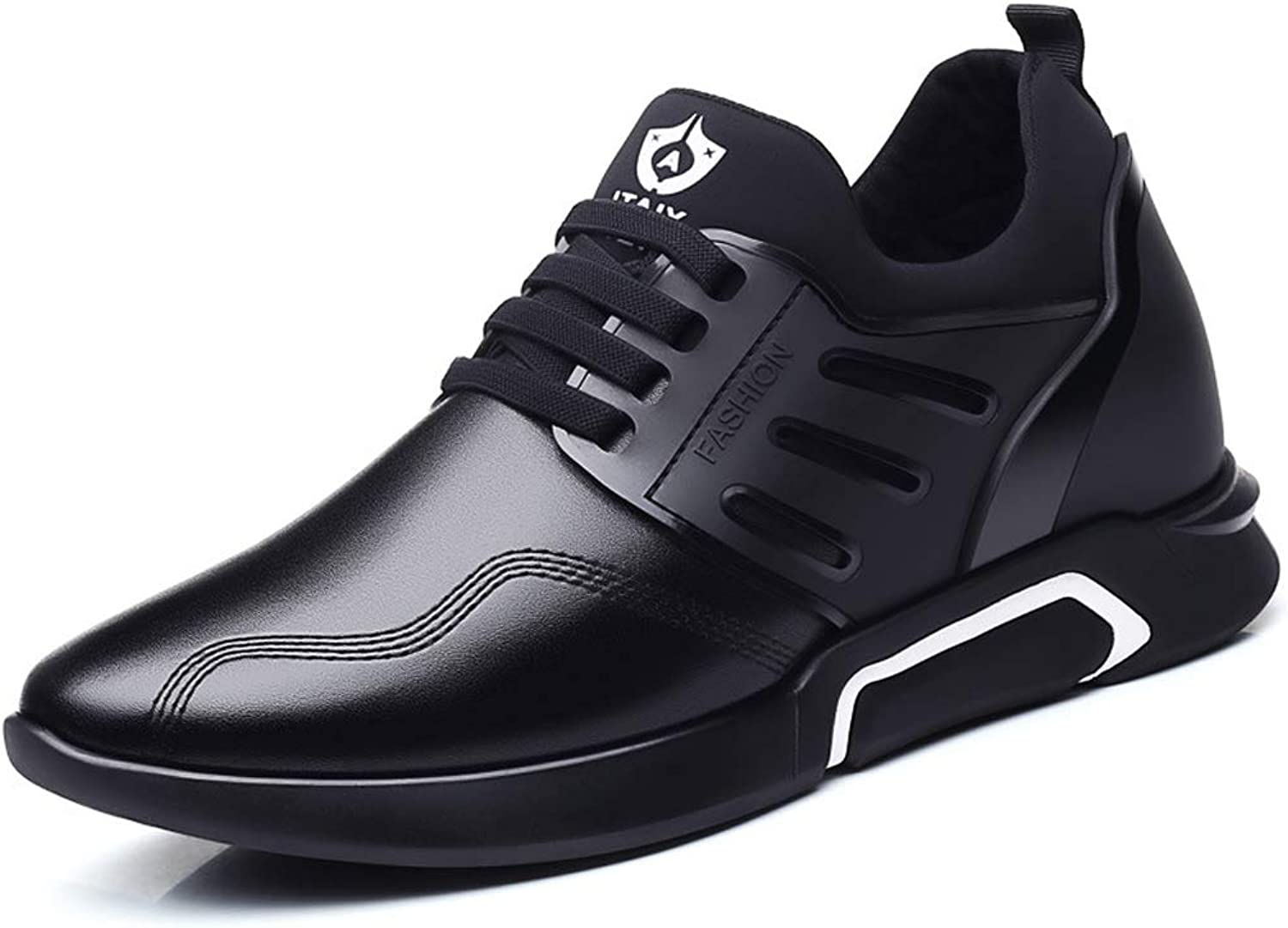 TYX-SS Casual Sports Men'S shoes 6CM Increased shoes Oxford shoes Leather Surface Breathable Fashion Men'S shoes
