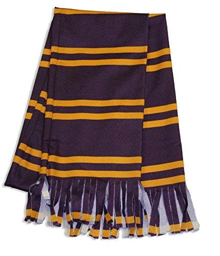 Bristol Novelty Gryffindor-Schal Harry Potter Lizenzartikel Bordeaux-gelb 149cm Einheitsgröße