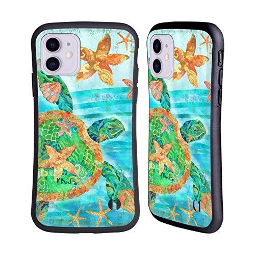 Officiële Paul Brent Nassau Schildpad Kust Hybrid Case Compatibel voor Apple iPhone 11