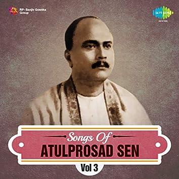 Songs of Atulprosad Sen, Vol. 3