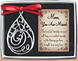 Cathedral Art Mom Teardrop (Abbey & CA Gift) Memorial Ornament