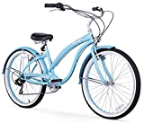Best Beach Cruiser Bikes - Firmstrong Bella Classic 7-Speed Beach Cruiser Bicycle, 26-Inch Review