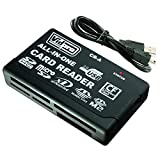 Vidpro CR-A 6-Slot All-in-One USB2.0 Card Reader-Writer...
