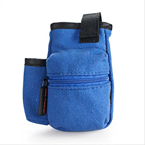 Coil Master Pbag 100% Authentic Universal Multi-Functional Electronic Cigarette Vape Travel Carrying Case Mini Vape Carry Bag for Tools, Liquids, RDA RTA Atomizer Mod [BAG ONLY] (Blue)