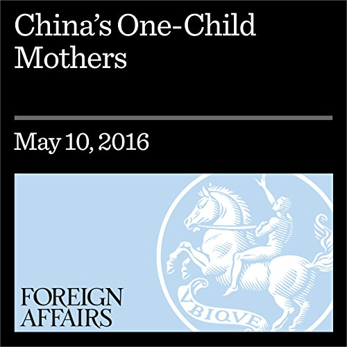 『China's One-Child Mothers』のカバーアート