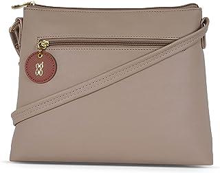 Baggit Women's Satchel Handbag (Pink)