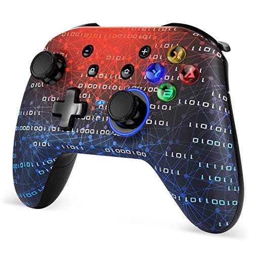 EasySMX Controller für Switch, wireless Controller für Switch, Bluetooth-Controller Gamepad Wiederaufladbarer Akku für Switch Pro / Lite und PC