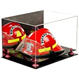 Better Display Cases アクリル製万能ディスプレイケース ライザーとブラックベース 18 X 14 X 12 Mirror, Pink Risers V60