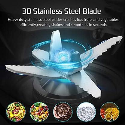 Standmixer-Smoothie-Maker-COOCHEER-2000W-Mixer-25000-Umin-Professioneller-Shakes-Blender-Mhle-und-Eisbrecher-mit-Geschwindigkeitsregelung-2L-BPA-Free-Tritan-Pitcher