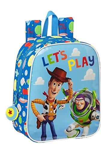 Safta Mochila Infantil de Toy Story Let Play  220x100x270mm  azul