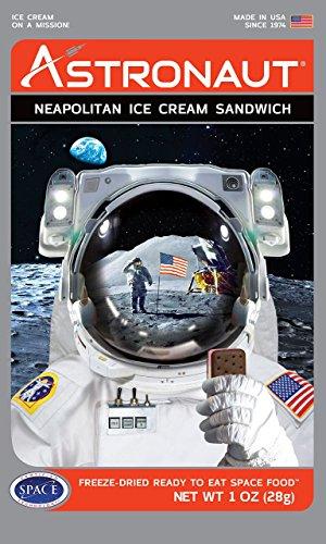 Astronaut Weltraum-Nahrung Eis Neapolitan -Sandwich 1 Paket