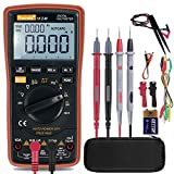Auto-Range Digital Multimeter 20000 Counts 4 1/2 DC AC Resistance Capacitance Peak Hold True RMS NCV Diode Tester