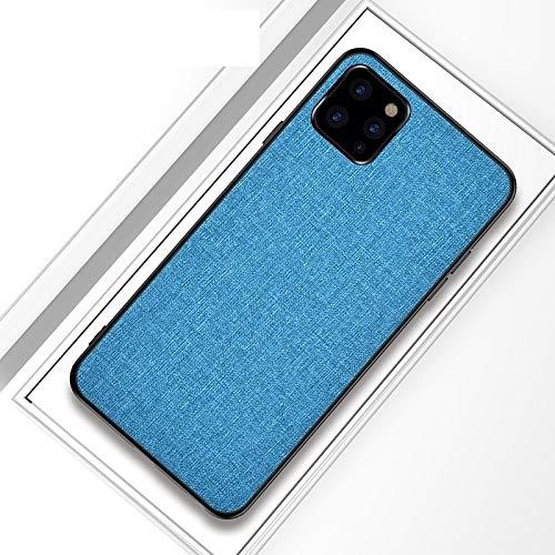 MKOKO Durable Funda Protectora a Prueba de Golpes de PC + TPU Funda Protectora Case Case for iPhone 11 Pro (Color : Sky Blue)