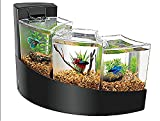 Aqueon Betta Falls Kit Black One Size