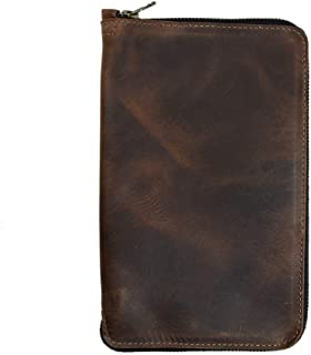 large moleskine leather cover