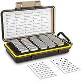 大容量 40枚 SD SDHC SDXC/NS/PSV/CFexpress Type A カード収納ケース メモリーカードケース 耐衝撃 防塵 防水
