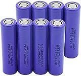Batería Recargable Litio Ion Recargable de la batería de la batería para Las baterías de Litio Planas de 3,7 V voltios 2600mAh 10A batería de Drenaje Alto para el Banco de energía