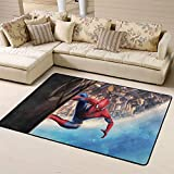 Zmacdk Spider-Man-Polyester-Gummi-Fußmatten für den Außenbereich, Terrassenbereich, Teppich,...