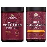 Ancient Nutrition - Multi Collagen Protein + Multi Collagen Protein Gut Restore Bundle